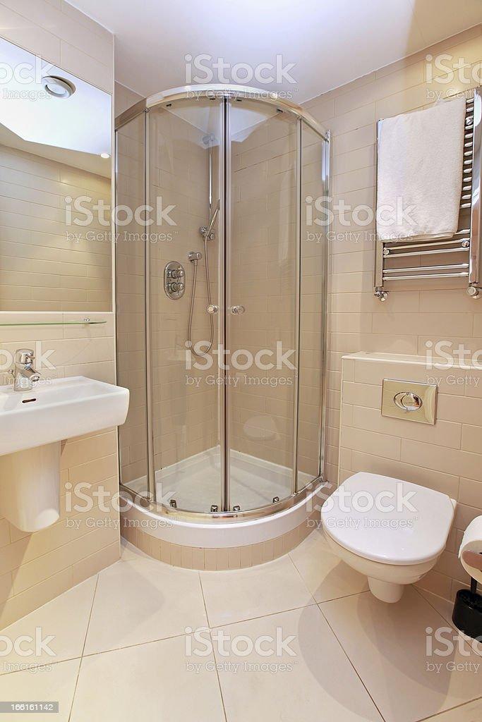 Bathroom small royalty-free stock photo