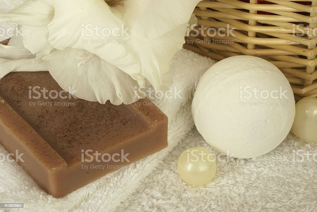 Bathroom still life royalty-free stock photo