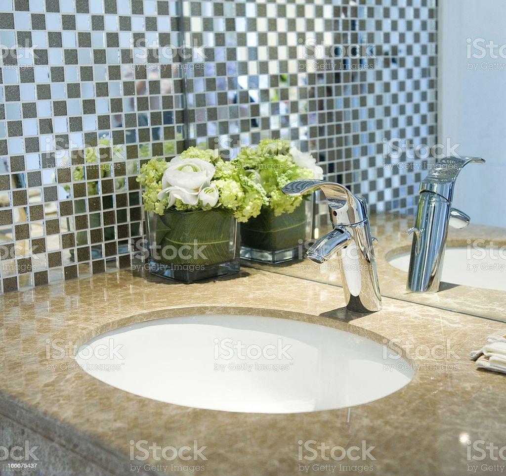 bathroom tap royalty-free stock photo