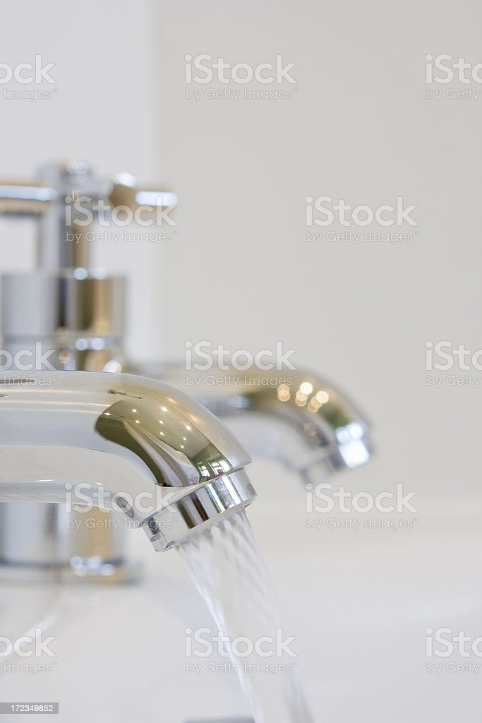 Bathroom Taps royalty-free stock photo