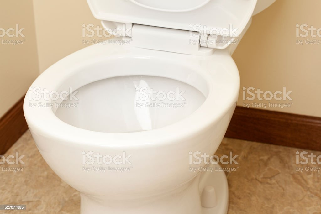 Bathroom Toilet Close-up stock photo