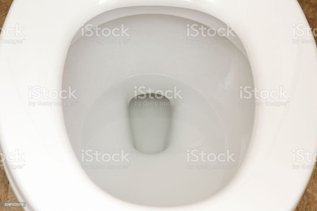 Bathroom Toilet Seat Close-up stock photo