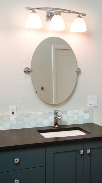 Bathroom Vanity stock photo