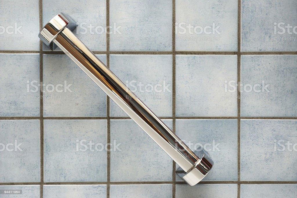 Bathroom wall royalty-free stock photo