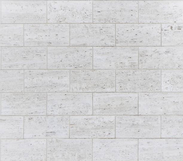 Bathroom Wall Tiles Texture Stock Photo