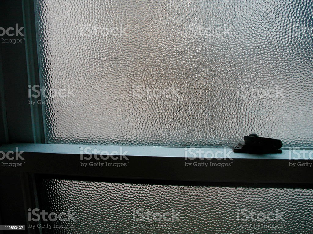 Bathroom Window royalty-free stock photo