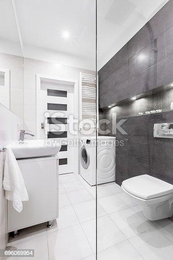 Lavadora Con Lavabo.ᐈ Imagen De Bano Con Lavadora Y Lavabo