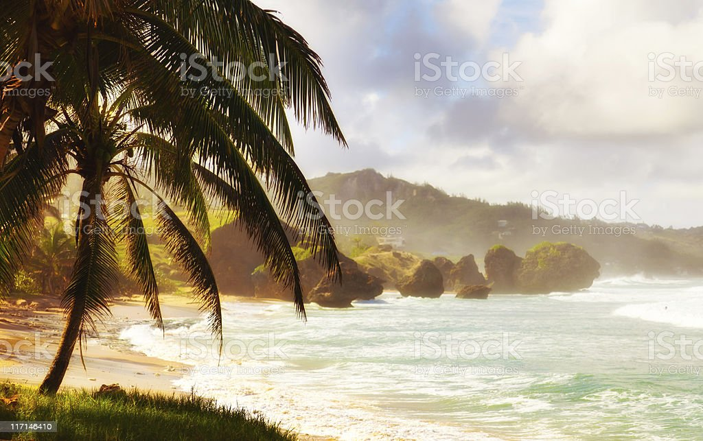 Bathsheba, Barbados stock photo