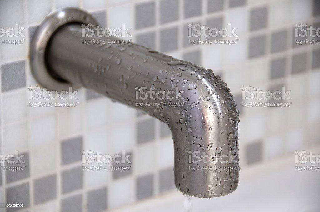 Bathtub Faucet Spout royalty-free stock photo