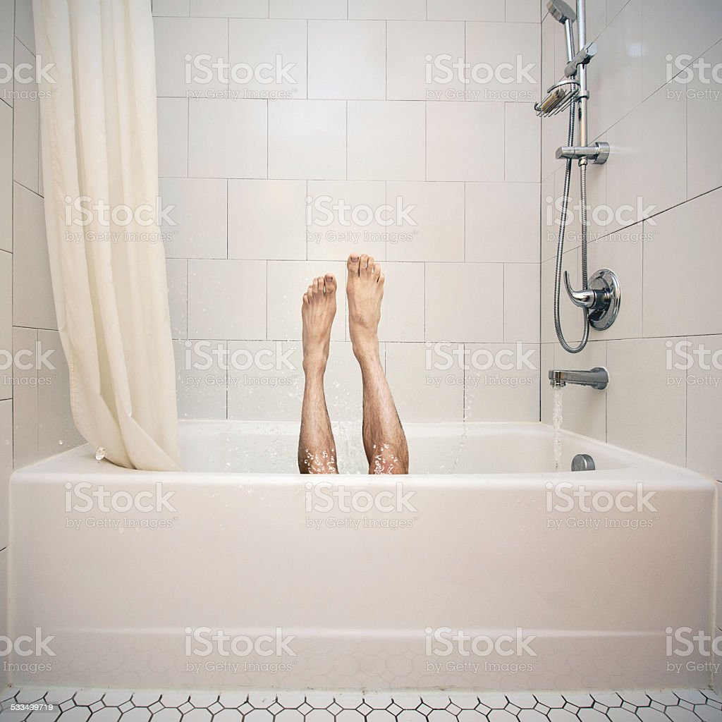 Baignoire à la plongée - Photo