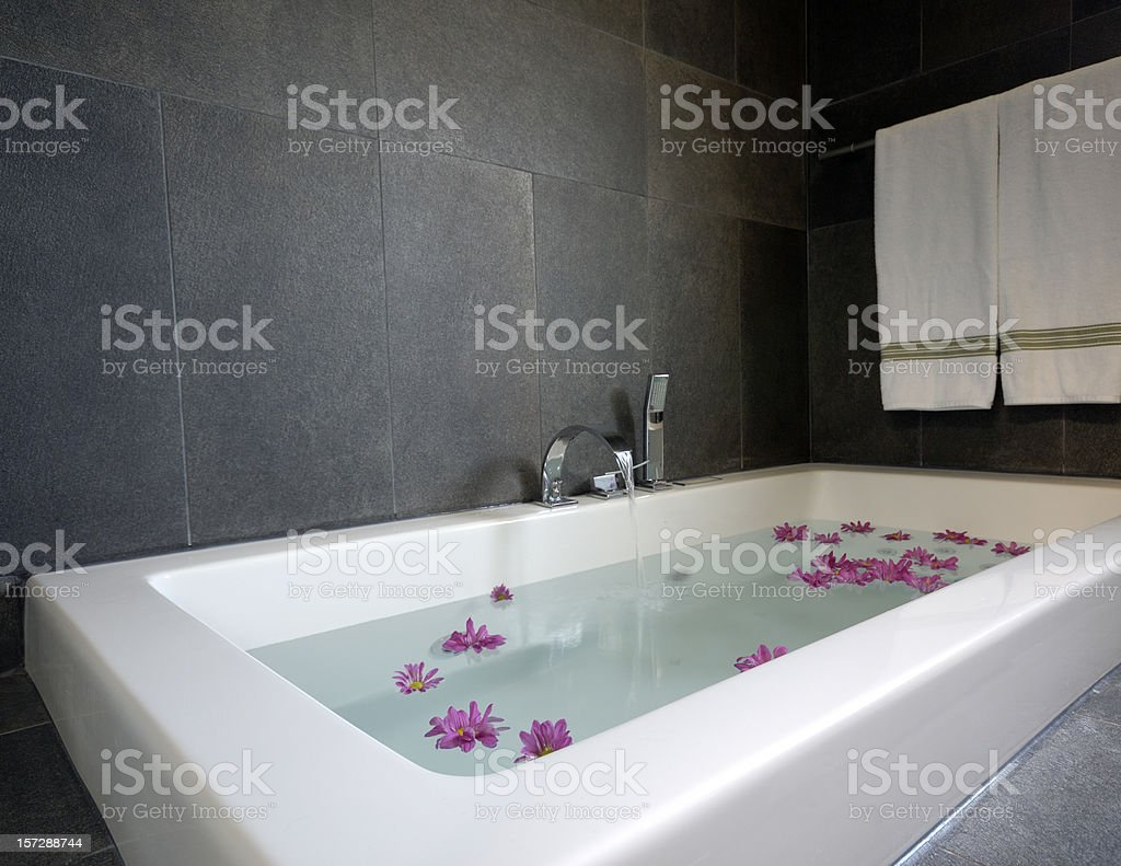 Bathtub of bliss royalty-free stock photo