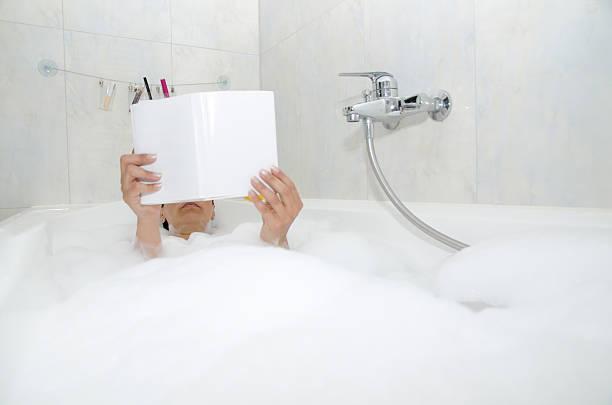 Bathtub stock photo