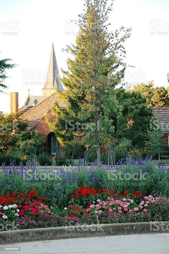 Bathurst Church stock photo
