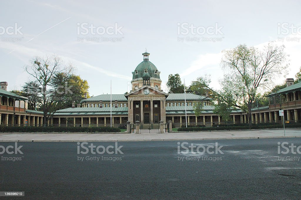 Bathurst Court House 1 stock photo