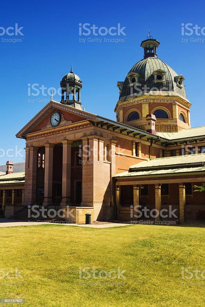 Bathurst - Courthouse stock photo