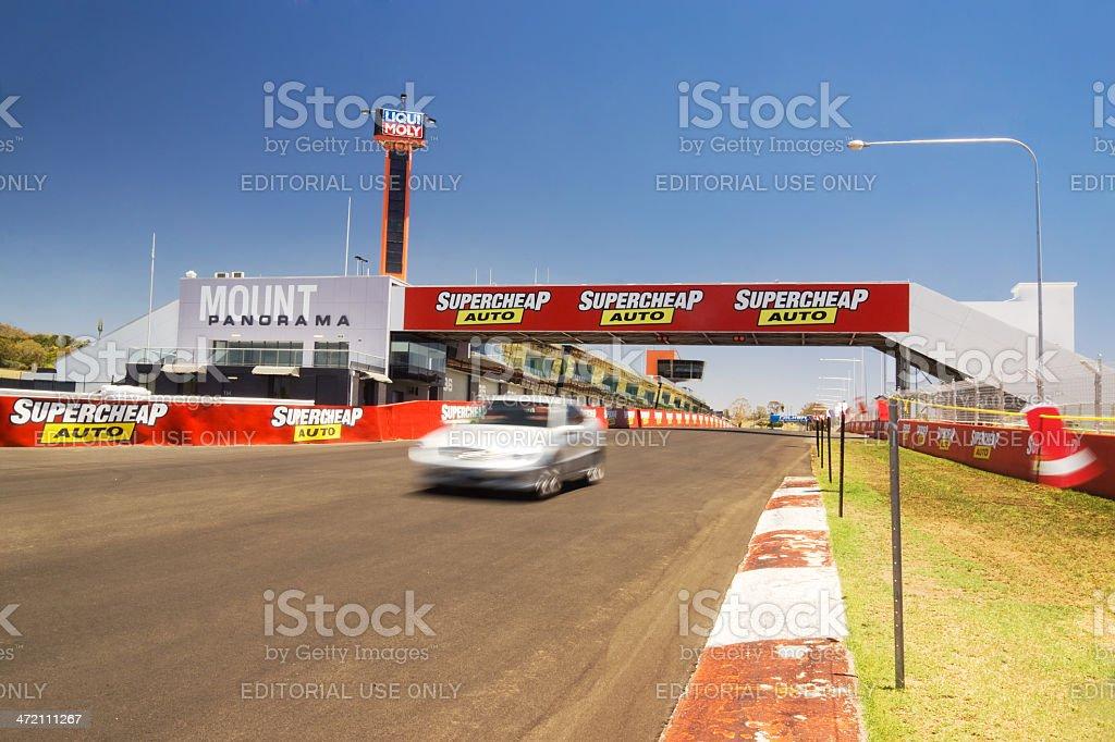 Bathurst - Mount Panorama Circuit stock photo