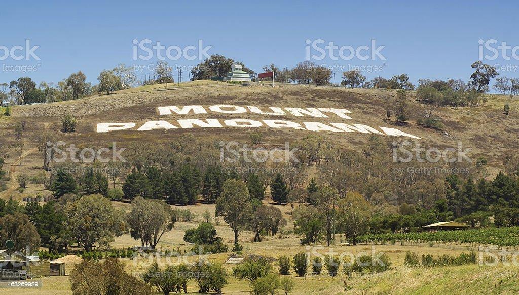 Bathurst - Mount Panorama stock photo