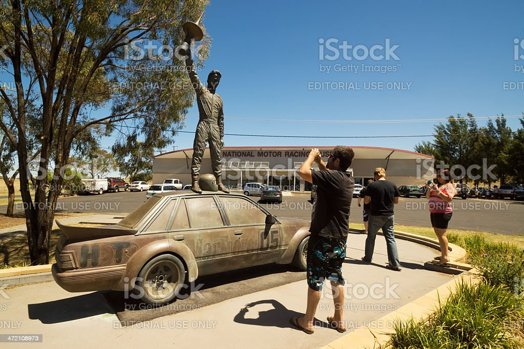 Bathurst - Peter Brock Memorial stock photo