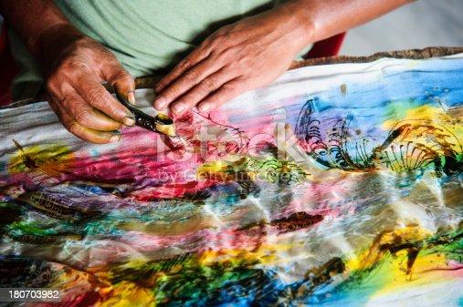 Batik Making with wax