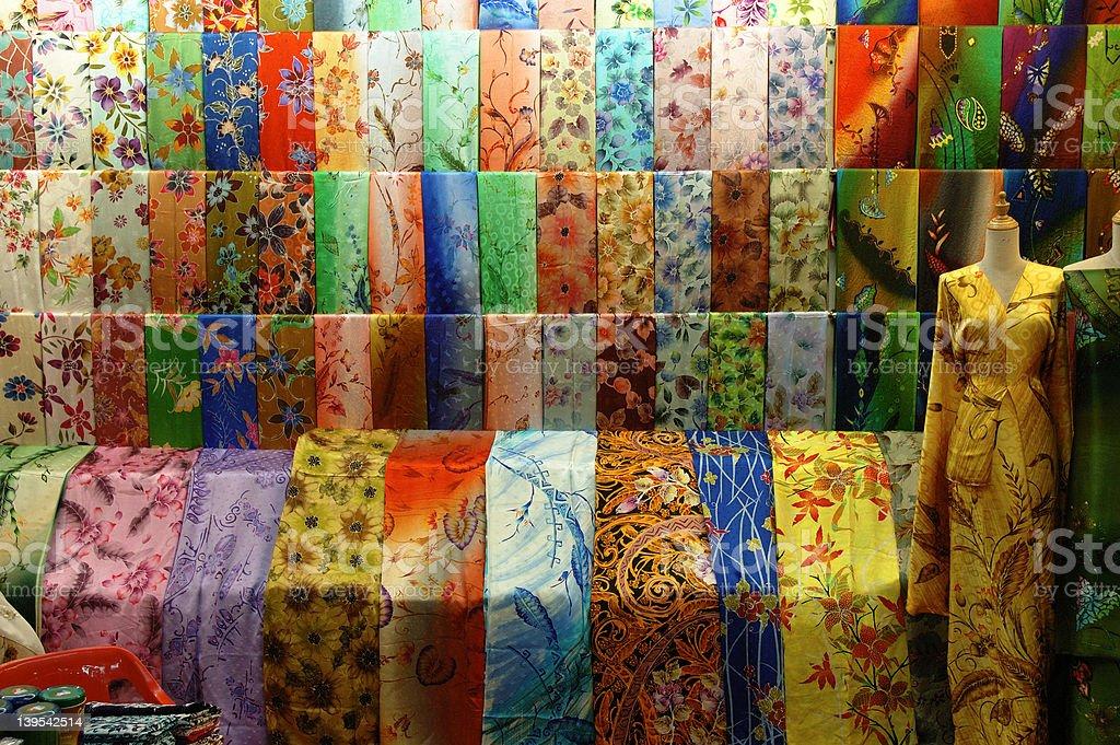 batik of malaysia royalty-free stock photo