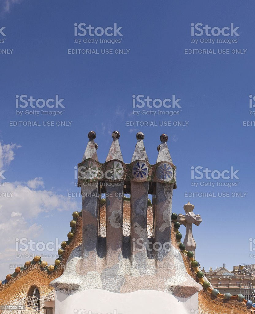 Casa Batilo. royalty-free stock photo