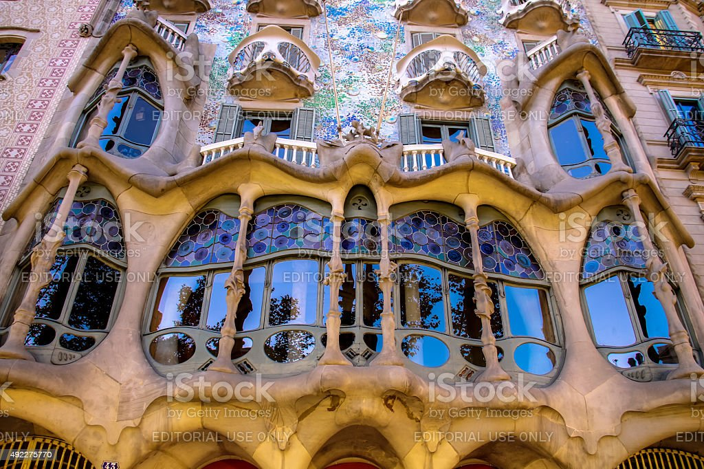 Casa Batllò stock photo
