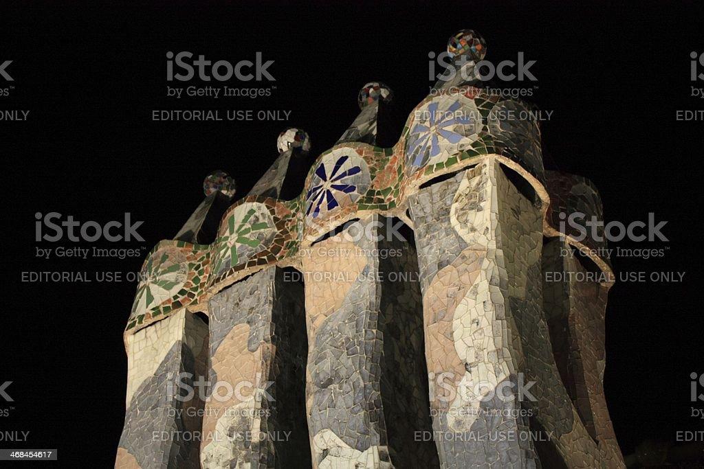 Casa Batllo royalty-free stock photo