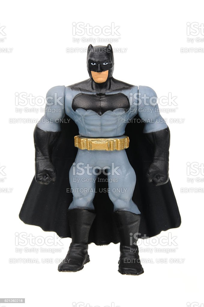 Batman Action Figure stock photo