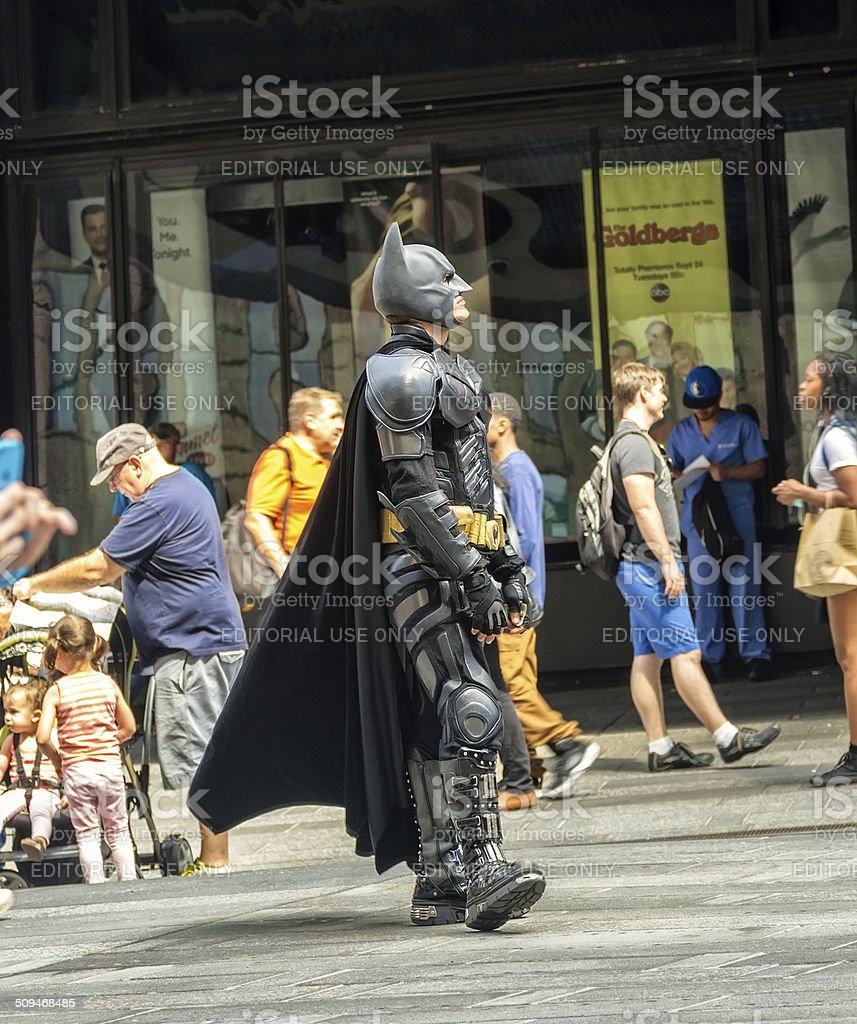 Batman e Robin carattere - foto stock