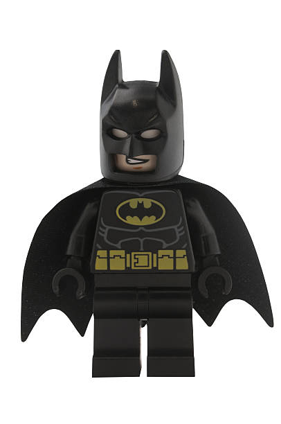 Batman Lego Minifigure stock photo