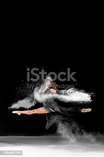 Ballet Dancer Concept on Stage - 2017