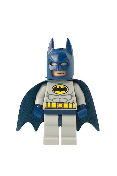 Batman Minifigure stock photo