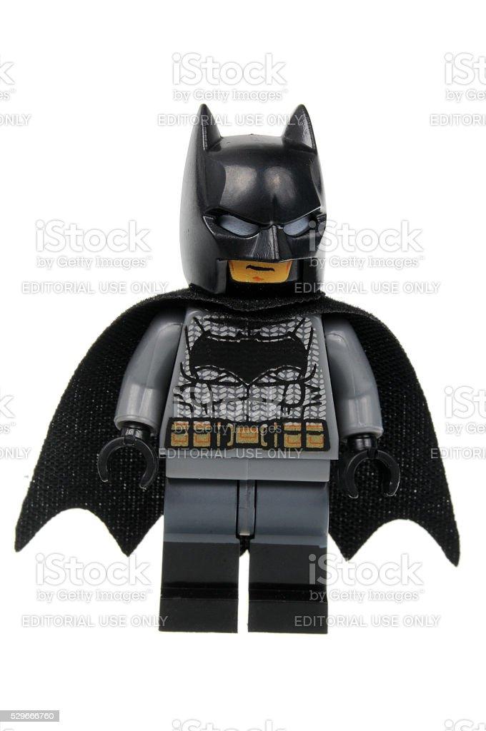 Batman-Superman LEGO Batman D - foto stock