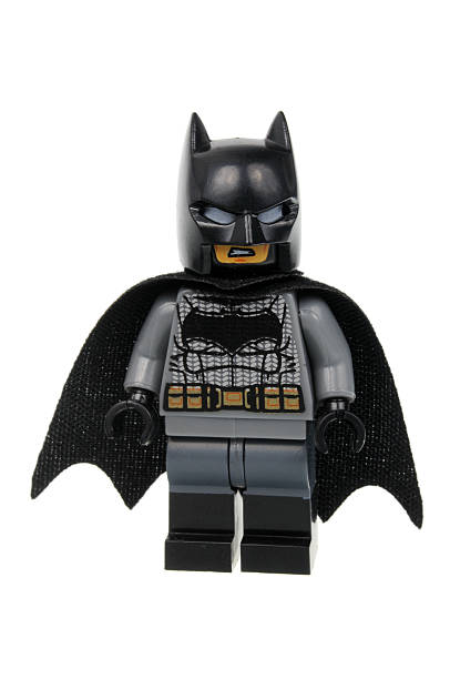 Batman V Superman Batman Lego Minifigure stock photo