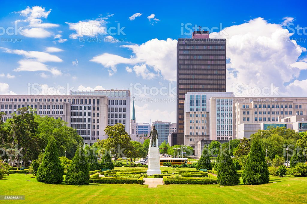 Baton Rouge, Louisiana stock photo