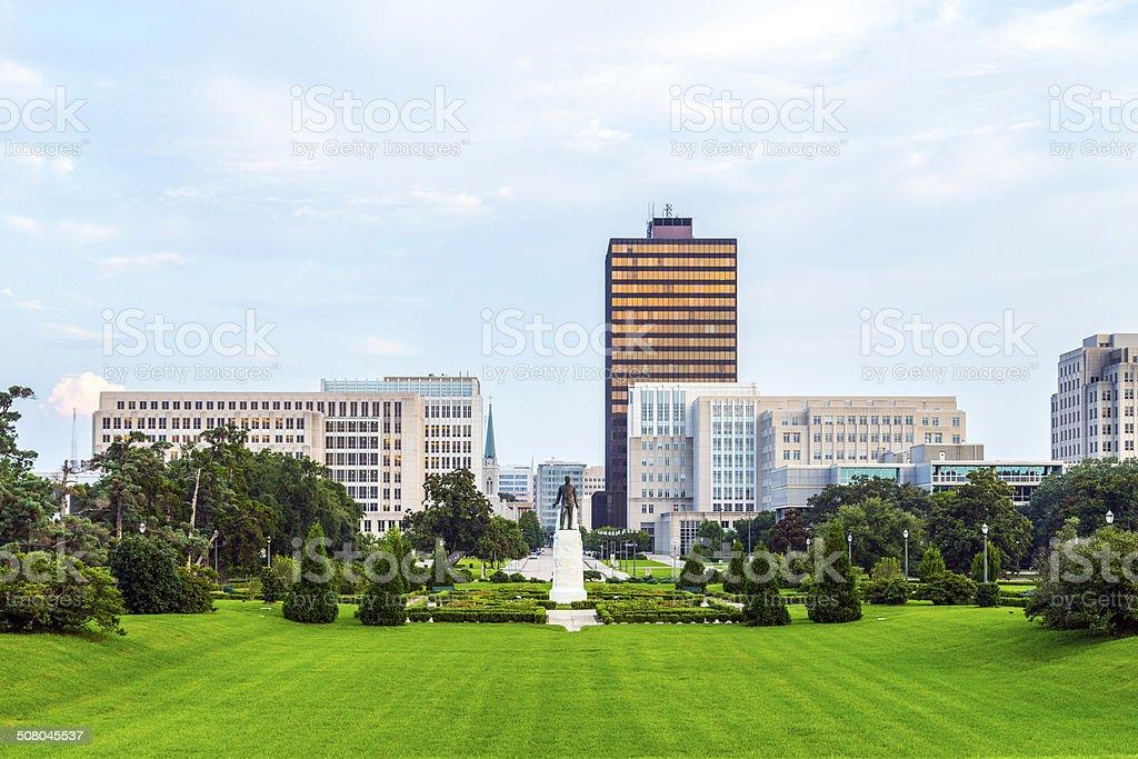 Baton Rouge, Louisiana - skyline stock photo