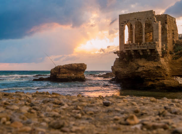 Batroun, Lebanon stock photo