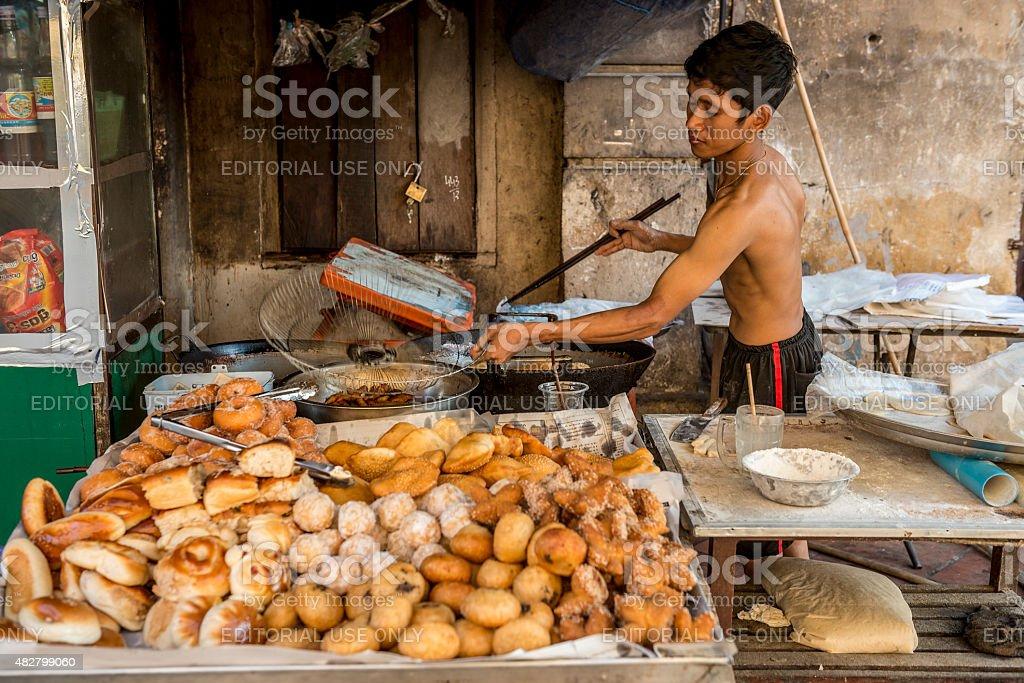 Battambang Cambodian Bakery stock photo