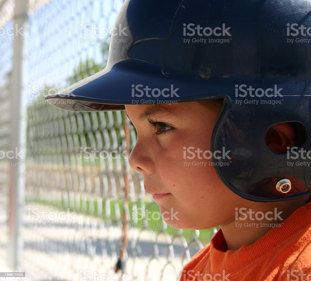 Batter On Deck royalty-free stock photo