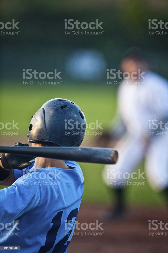 Batter royalty-free stock photo