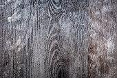 Rustic grey wood background. grunge background. battered wood dark gray