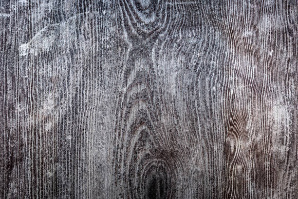 battered wood dark gray. grunge background. Rustic grey wood background. stock photo
