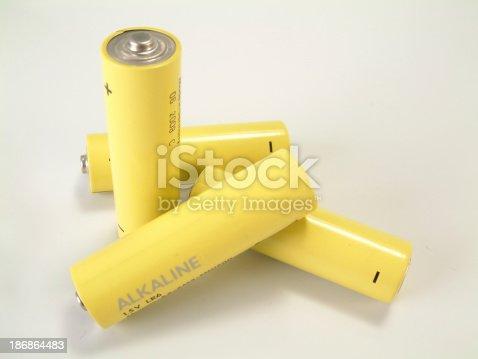 AA batteries.