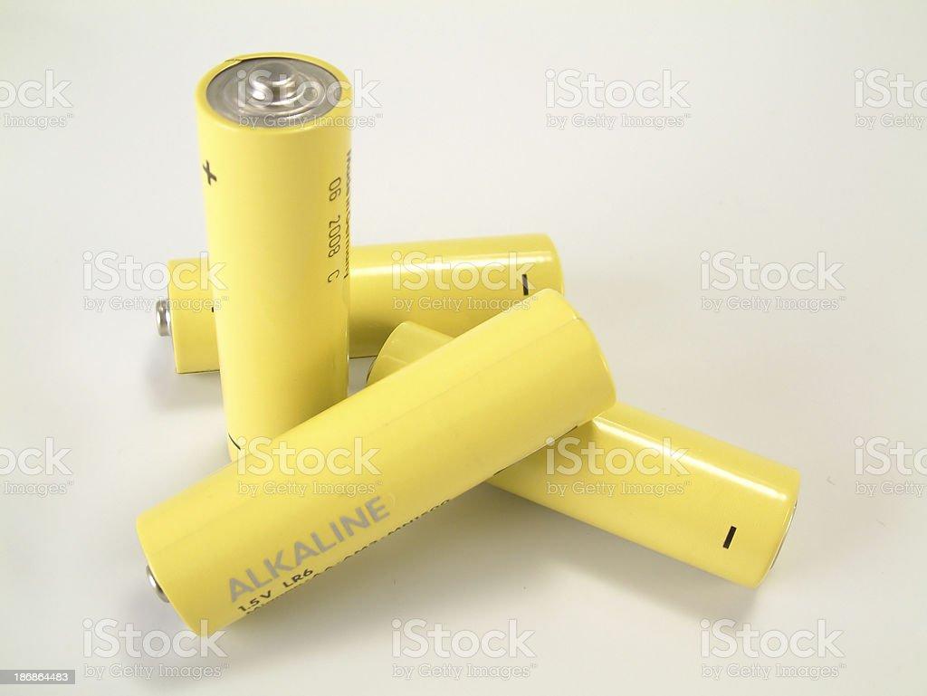 Batteries, AA 1 stock photo