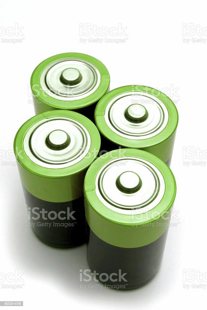 Batteries stock photo
