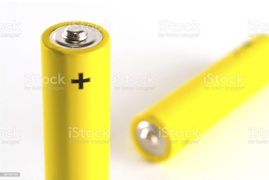 AAA batteries stock photo