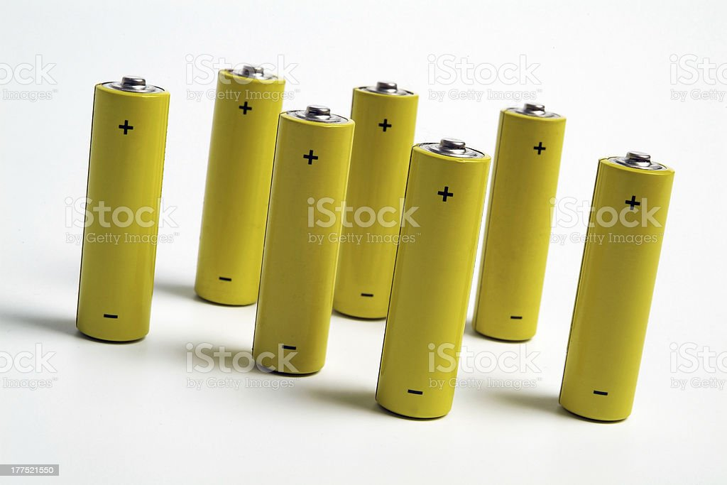 Batteries-Rechargeable 2 stock photo