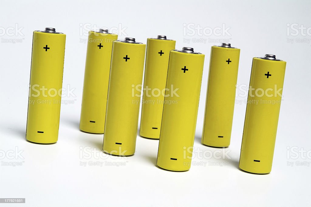 Batteries-Rechargeable 3 stock photo