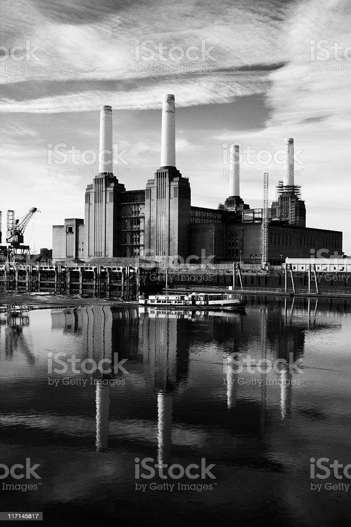 Battersea Morning stock photo