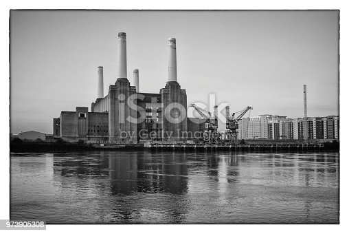 Battersea Power Station at Dawn